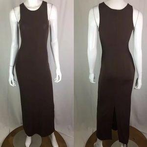 Vintage Emporio Armani Tank Maxi Sheath Dress